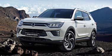New SsangYong Korando from £15,995