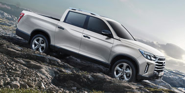 New SsangYong All New Musso from £21,995 <span>ex VAT</span>